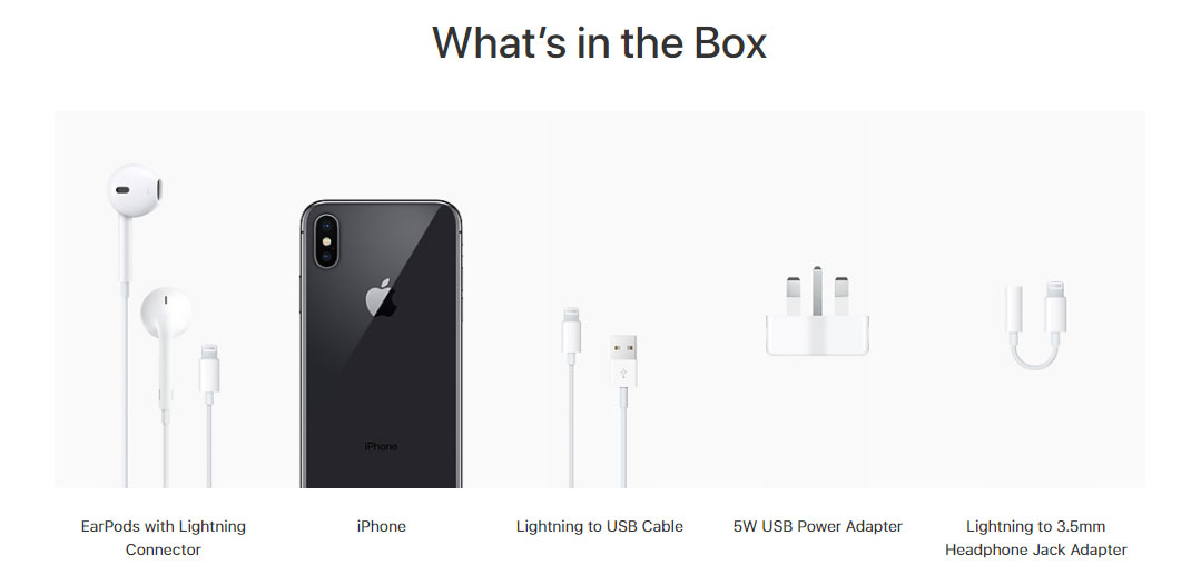 Iphone X What Comes In The Box