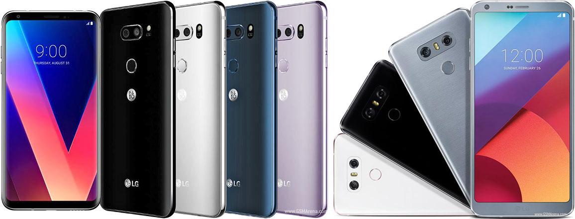 LG V30 vs LG G6: design, hardware, cameras, software, price