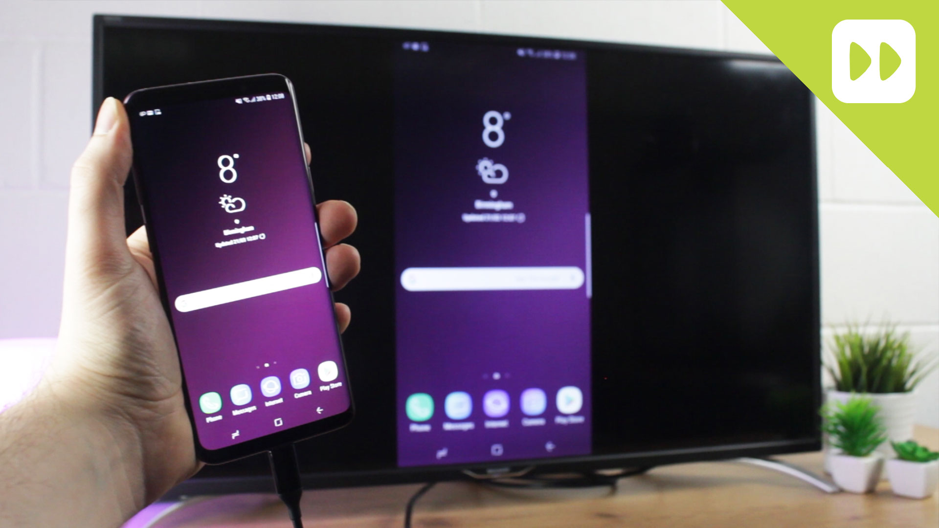 How To Connect Galaxy S9 S9 To Tv Mobile Fun Blog