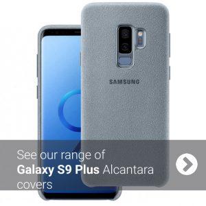 Samsung S9 Plus Alcantara Cover Case