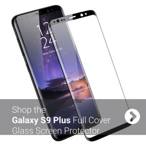 Olixar Galaxy S9 Plus Full Cover Glass Screen Protector