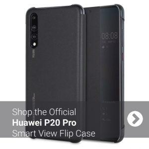 Official Huawei P20 Pro Smart View Flip Case