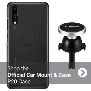 Official Huawei P20 Car Mount & Magnetic Car Case
