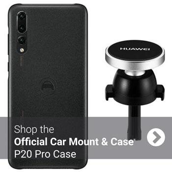 Official Huawei P20 Pro Car Mount & Magnetic Car Case