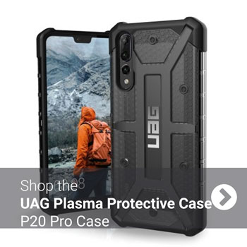 UAG Plasma Huawei P20 Pro Protective Case - black