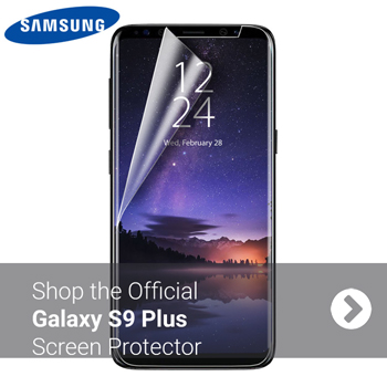 Official S9 Plus Screen Protector - Twin Pack