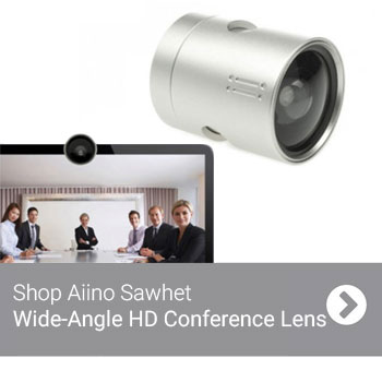 Aiino Sawhet Wide-Angle HD Conference Lens for MacBook