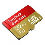 SanDisk Extreme Micro SDHC Card with SD Adapter - 32GB