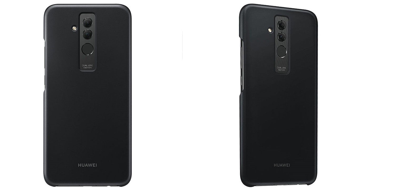Official Huawei Mate 20 Lite Protective Case - Black