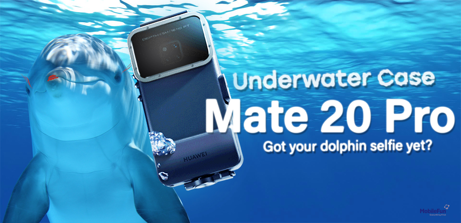 Official Protective Waterproof Diving Case For Huawei Mate 20 Pro banner