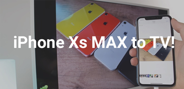 iphone xs max to tv banner featured