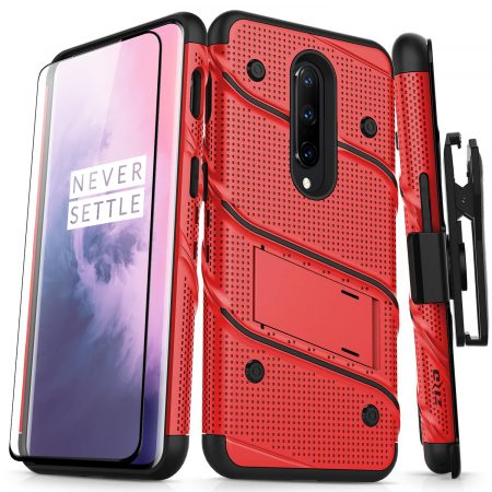 Zizo Bolt OnePlus 7 Pro Tough Case & Screen Protector