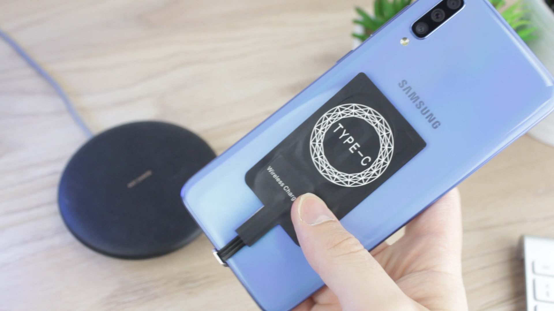 How to add wireless charging to the Samsung Galaxy A70