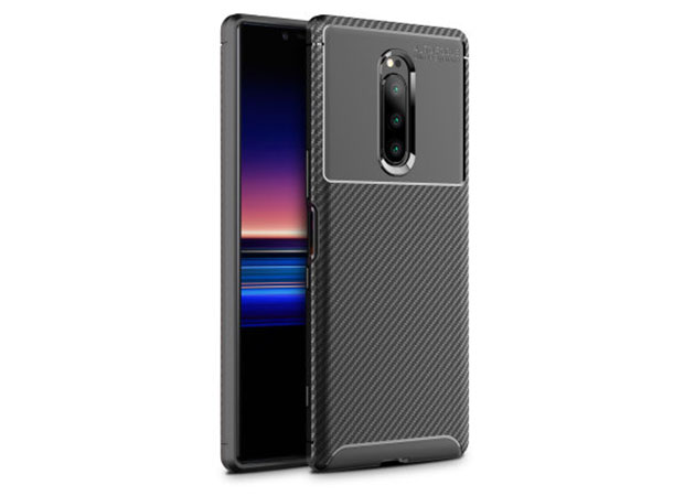 Olixar Carbon Sony Xperia 1 cases