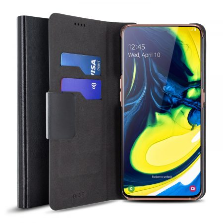Olixar Leather-Style Samsung Galaxy A80 Wallet Stand Case