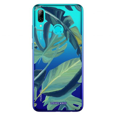 LoveCases Huawei P Smart 2019 Tropical Phone Case - Clear Green