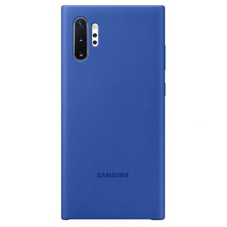 Note 10 Plus Silicone Case in Blue