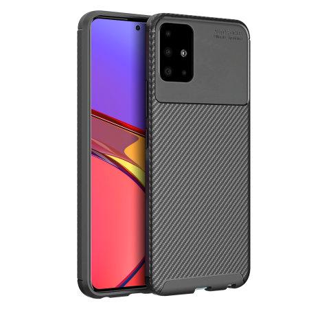 Olixar Carbon Fibre Samsung Galaxy A51 Case
