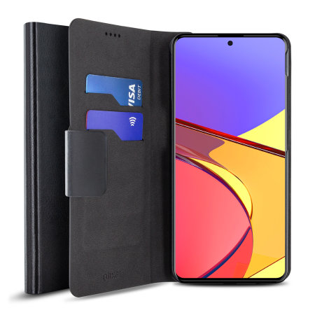 Olixar Leather-Style Samsung Galaxy A51 Wallet Stand Case