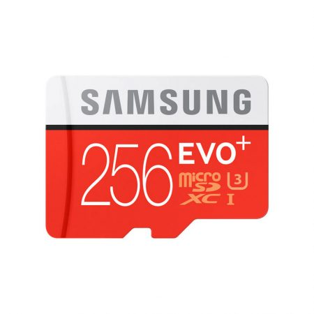 Samsung 256GB MicroSDXC EVO Plus Memory Card w/ SD Adapter