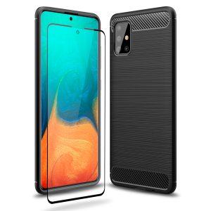 Olixar Sentinel Samsung Galaxy A71 - Black