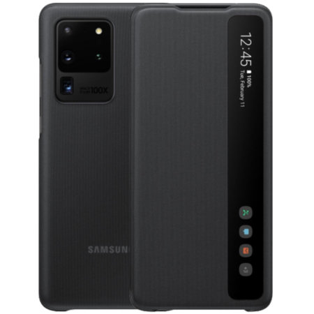Official Samsung Galaxy S20 Ultra Clear View Cover Case