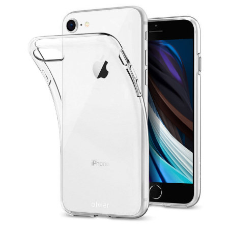 Olixar Ultra-Thin iPhone SE 2020 Gel Case