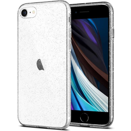 Spigen Liquid Crystal Glitter iPhone SE 2020 Case