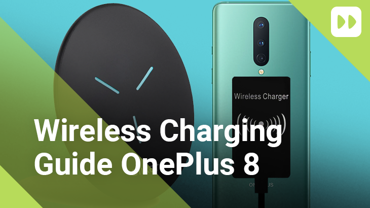 How to add wireless charging to the oneplus 8