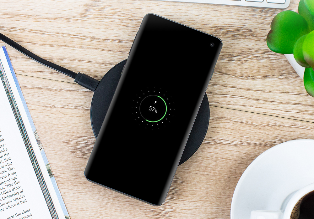 QI Compatible Mobile Phone Charging Pad