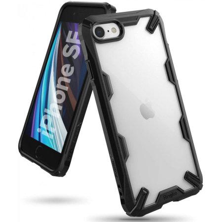 Ringke Fusion X iPhone SE 2020 Case - Black