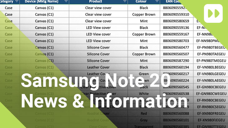 Samsung Galaxy Note 20 News