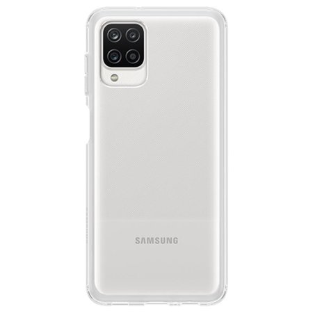 Official Samsung Galaxy A12 Slim Case - Clear