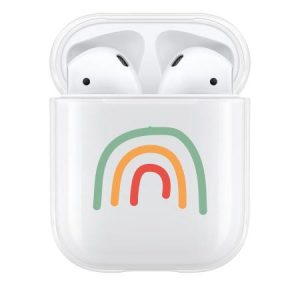 Lovecases AirPods 1 & 2 Protective Case - Abstract Rainbow