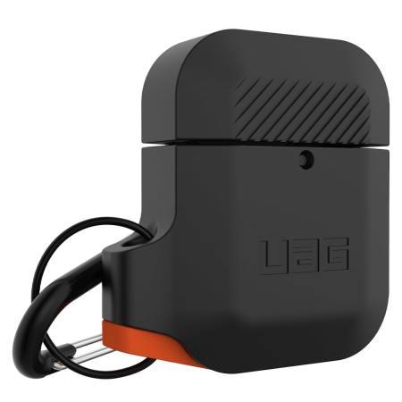 UAG Apple AirPods Silicone Case - Black - Orange