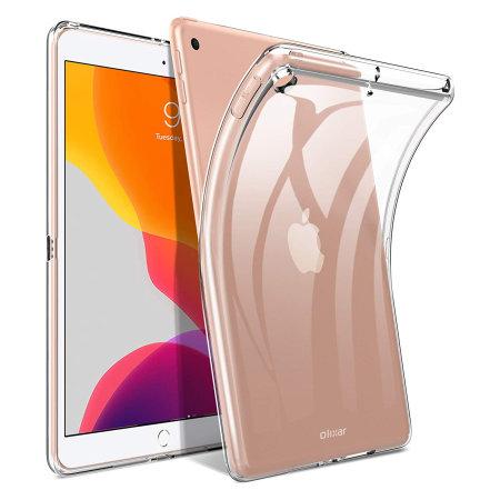 Olixar iPad 10.2 Flexishield Case - 100% Clear