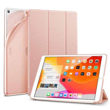 Sdesign iPad 10.2 Soft Silicone Case - Rose Gold