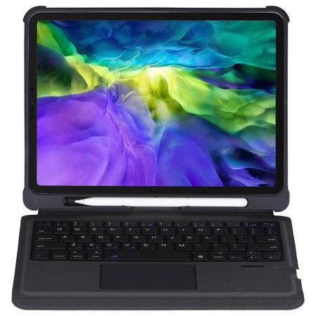4Smarts iPad Pro 11 2021 3rd Gen. Keyboard Case With Pencil Holder- Black