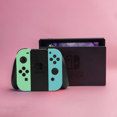 Olixar Silicone Switch Joy-Con Controller Covers- 2 Pack- Green Blue