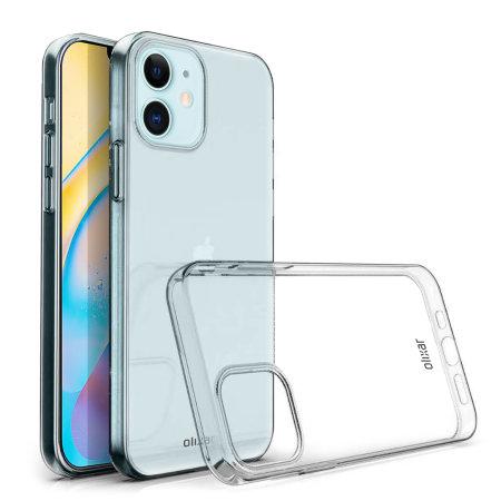 Olixar Ultra-Thin iPhone 12 Case - 100% Clear