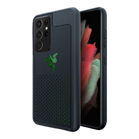 Razer Samsung Galaxy S21 Ultra Arctech Protective Phone Case - Black