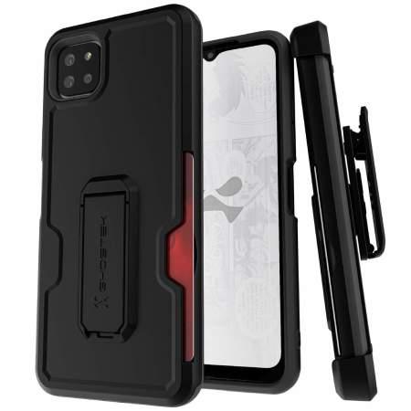 Ghostek Iron Armor 3 Samsung Galaxy A22 5G Tough Case - Black