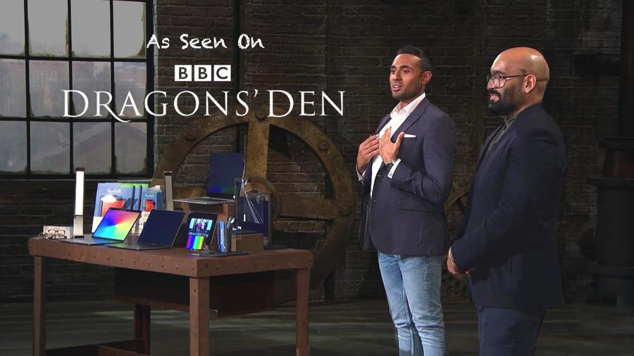 ocushiled-blue-light-dragons-den