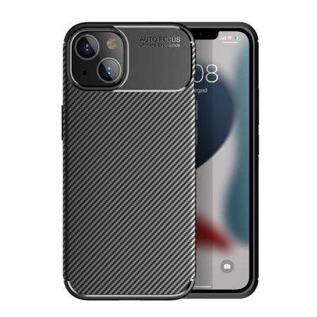 Olixar Carbon Fibre iPhone 13 mini Tough Case