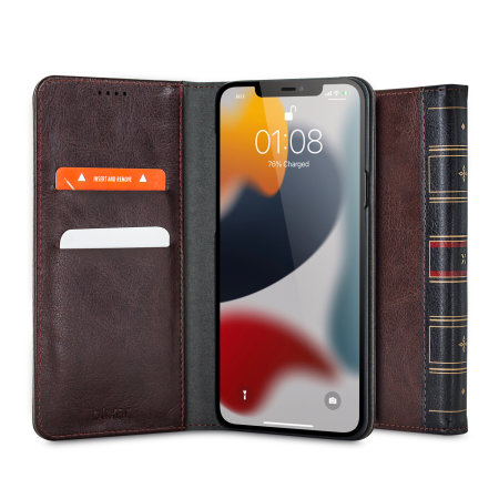 Olixar X-Tome Leather-Style iPhone 13 mini Book Wallet Case